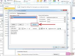 How To Edit Signature In Outlook 2010 Step 6 With Images