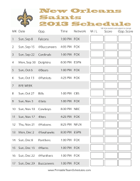 Printable Team Schedules Auto Electrical Wiring Diagram