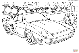 1602x1071 porsche 959 coloring page free printable coloring pages