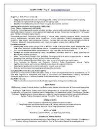 Fingerprint Specialist Sample Resume Awesome Correctional Officer Job Description Resume Inspirational