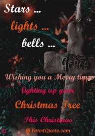 Christmas Lights Quotes Beauteous Christmas Quotes And Wishes Stars Lights And Bells Foto 48 Quote