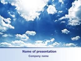 Deep Blue Sky Free Presentation Template For Google Slides