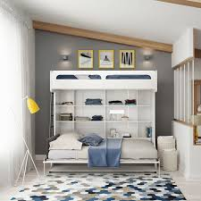 twin murphy bed white simple and easy all intended for queen size plan 4