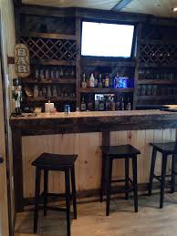 Garage bar idea for the hubby's man cave. Like this but how would you keep