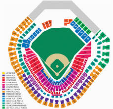 Texas Rangers Seating Chart With Seat Numbers Texas Rangers Ballpark Seating Map 40 Rangers Ballpark