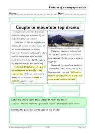 Example of a newspaper report ks2 : Ks2 Newspapers Teachit Primary