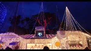 Christmas Light Displays In Tampa 4k Oakdale Christmas Display St Petersburg Tampa Bay Florida 2016