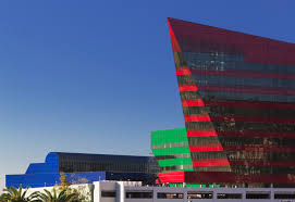 pacific design center red building
