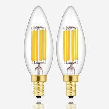 6w dimmable led candelabra bulbs e12 60w
