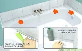 How To Caulk A Bathroom