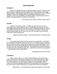 How To Write Essay Introductions Examples Ccss Aligned