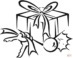 Small Picture Birthday gift box coloring page Free Printable Coloring Pages