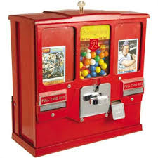 Bubble Vending Machine Extraordinary 48's Baseball Card Bubble Gum Vending Machine