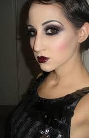 20s make up gatsby makeup flapper makeup burlesque makeup bridal makeup 1920