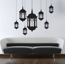 Small Picture Walliv Set Of Lanterns Wall Sticker Decal price review and buy