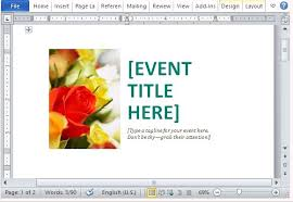 Create Postcard In Word Event Postcard Template For Word