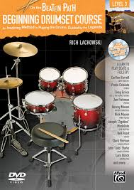 On the Beaten Path -- Beginning Drumset Course, Level 3: An Inspiring  Method to Playing the Drums, Guided by the Legends (Book, CD, & DVD):  Amazon.co.uk: Staff, Alfred Publishing: 9780739080962: Books