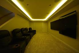 Image Finished Basement Image Of Led Recessed Lighting For Basement Mysticirelandusa Basement Ideas Led Basement Lighting Design Mysticirelandusa Basement Ideas