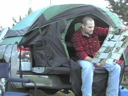 Guide Gear Full Size Truck Tent - YouTube