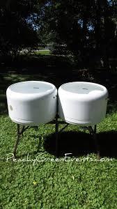 double wash basin beer tubs