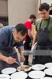Chef Paul Qui and chef Dustin Harvey attend Bounty & Barrel: A Jack... News  Photo - Getty Images
