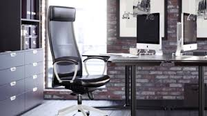 ikea industrial furniture. Beautiful Furniture For Ikea Office Ideas: Leather Chair And Hutch Industrial