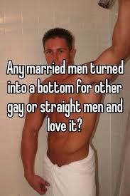 Straight man turn gay