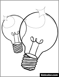 Christmas colouring pages by theme. Christmas Light Bulb Coloring Page Free Print And Color Online