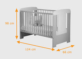 baby bed size