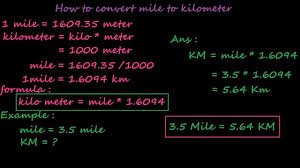 Conversion Chart Miles To Kilometers Miles To Km Running Pace Conversion Chart 2019 08 16