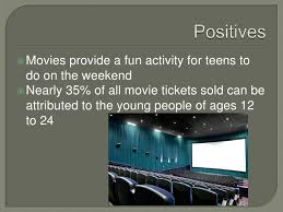 Effects of movies on teens