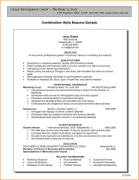 Combination Resume Sample Combination Resumes Sample Combination Resume Resume Templates 2