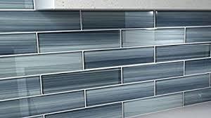 kitchen backsplash glass tile. Deep Ocean Blue, Gentle Grey Glass Tile Perfect For Kitchen Backsplash Or  Bathroom, Color Kitchen Backsplash Glass Tile T