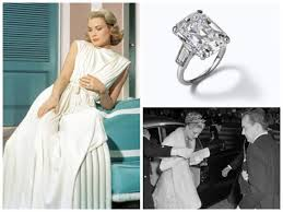 grace kelly wedding ring. star grace kelly was an american actress who, after marrying prince rainier iii, became known as the princess of monaco. her cartier engagement ring is wedding o