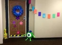 dorm door decorations cool college decorating ideas best monster decoration on n8 decorating