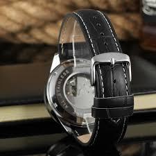 tourbillion watch forsining automatic movement genuine tourbillion watch forsining automatic movement genuine leather band western watches men wrist watch forsining