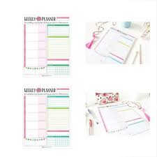 Bloom Planning Pads Daily Planners Weekly Planner Tear Off To Do Pad
