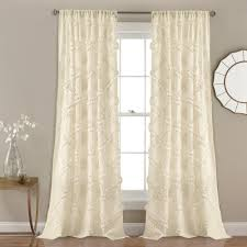 full size of curtain white ruffle curtains inches blackout for girls room target and window