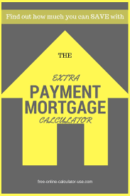 Mortgage Extra Payment Extra Payment Mortgage Calculator For Time And Interest Savings