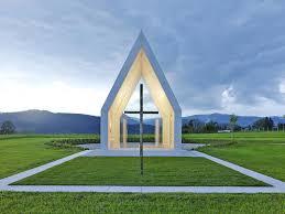 Modern Chapel Design Modern Chapel Makes A Powerful But Minimalist Statement In
