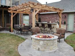 add a fire pit diy outdoor chimeny firepit
