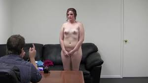 Chubby babe with small tits presents PornDoe