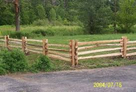 rail fence styles. Split Rail Fence Picture 3 Styles I