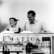 the eames office. Ray And Charles Eames With The Final Model Of \u0027Mathematica: A World Numbers Office