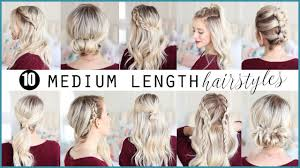 Easy Shoulder Length Hairstyles 49499 25 Cute Easy Hairstyles For
