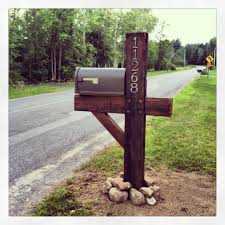 mailbox post ideas. Barnwood Mailbox Post Ideas R