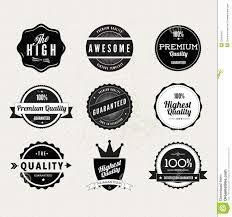 Stamp Design Premium Quality Stamps Stock Vector Illustration Of