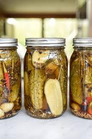 homemade y garlic dill pickles