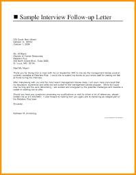 5 6 Follow Up Email After Interview Example 1trader1 Com