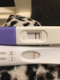 Pregnancy Test One Line Dark The Other Light Lines Not Getting Darker Netmums